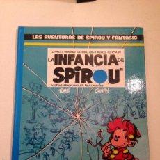 Cómics: LAS AVENTURAS DE SPIROU Y FANTASIO Nº 24. LA INFANCIA DE SPIROU. JUNIOR GRIJALBO 1990. Lote 58854071