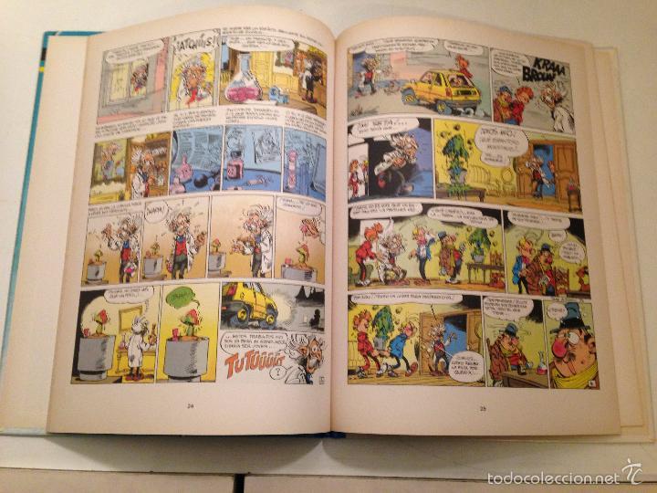 Cómics: LAS AVENTURAS DE SPIROU Y FANTASIO Nº 24. LA INFANCIA DE SPIROU. JUNIOR GRIJALBO 1990 - Foto 2 - 58854071
