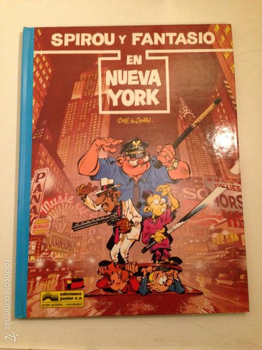 LAS AVENTURAS DE SPIROU Y FANTASIO Nº 25. SPIROU Y FANTASIO EN NUEVA YORK. JUNIOR GRIJALBO 1991 (Tebeos y Comics - Grijalbo - Spirou)