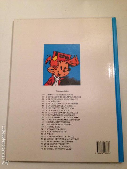 Cómics: LAS AVENTURAS DE SPIROU Y FANTASIO Nº 25. SPIROU Y FANTASIO EN NUEVA YORK. JUNIOR GRIJALBO 1991 - Foto 3 - 58854216