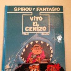 Cómics: LAS AVENTURAS DE SPIROU Y FANTASIO Nº 29. VITO EL CENIZO. JUNIOR GRIJALBO 1992. Lote 58854711