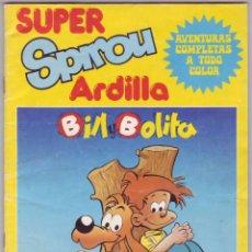 Cómics: SUPER SPIROU ARDILLA: BILL Y BOLITA Nº 4 (1981). Lote 58940555