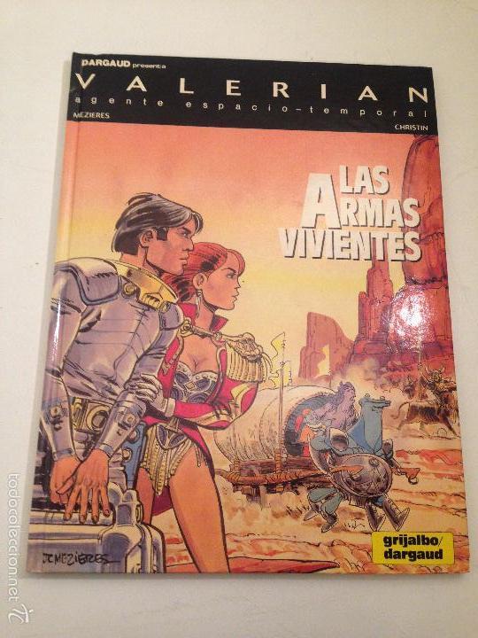 VALERIAN Nº 14. LAS ARMAS VIVIENTES. GRIJALBO/ JUNIOR. MEZIERES. (Tebeos y Comics - Grijalbo - Valerian)