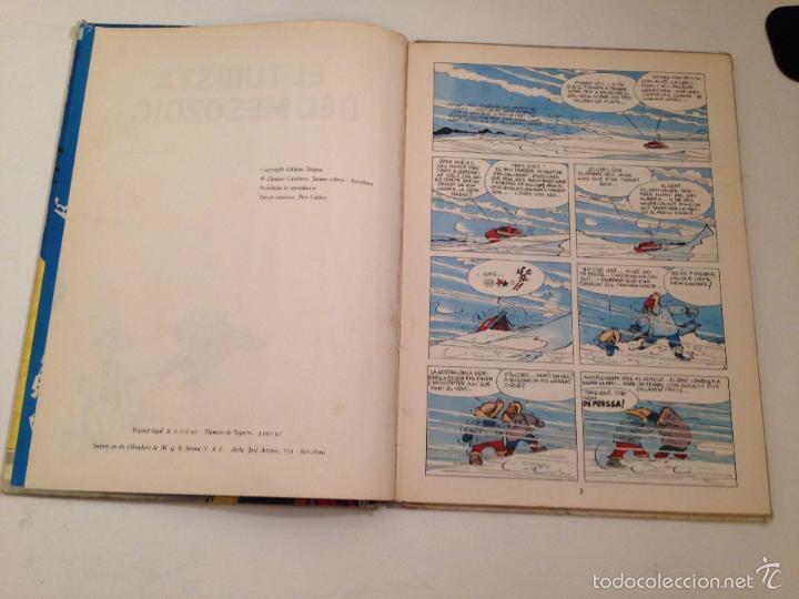 Cómics: LES AVENTURES D ESPIRU I FANTASTIC Nº 2 EL TURISTA DEL MESOZOIC. 1ª EDICION EN CATALA JAIMES 1965 - Foto 2 - 59034520