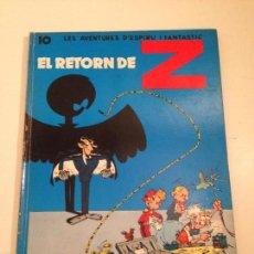 Cómics: LES AVENTURES D' ESPIRU I FANTASTIC Nº 10 EL RETORN DE Z. 1ª EDICION EN CATALA JAIMES 1972. FRANQUIN. Lote 215294373