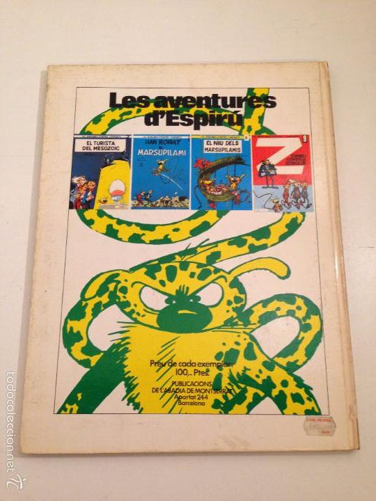 Cómics: SPIROU CATALÁ Nº 10. EL RETORN DE Z. JAIMES LIBROS 1972. - Foto 3 - 59035645