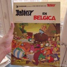 Cómics: ASTERIX Y OBELIX TAPA DURA - GOSCINNI - EDITORIAL BRUGUERA - PILOTE - ASTERIX EN BELGICA 1979. Lote 59708819