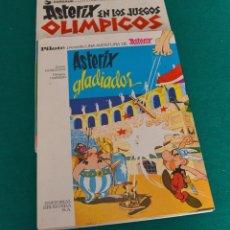 Cómics: LOTE ASTERIX - EN LOS JUEGOS OLIMPICOS - ASTERIX GLADIADOR. Lote 59741044