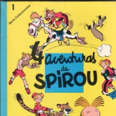 Cómics: SPIROU Nº 1 , 4 AVENTURAS DE SPIROU - SEPP MUNDIS 1980 - TAPA DURA - FRANQUIN. Lote 59790168