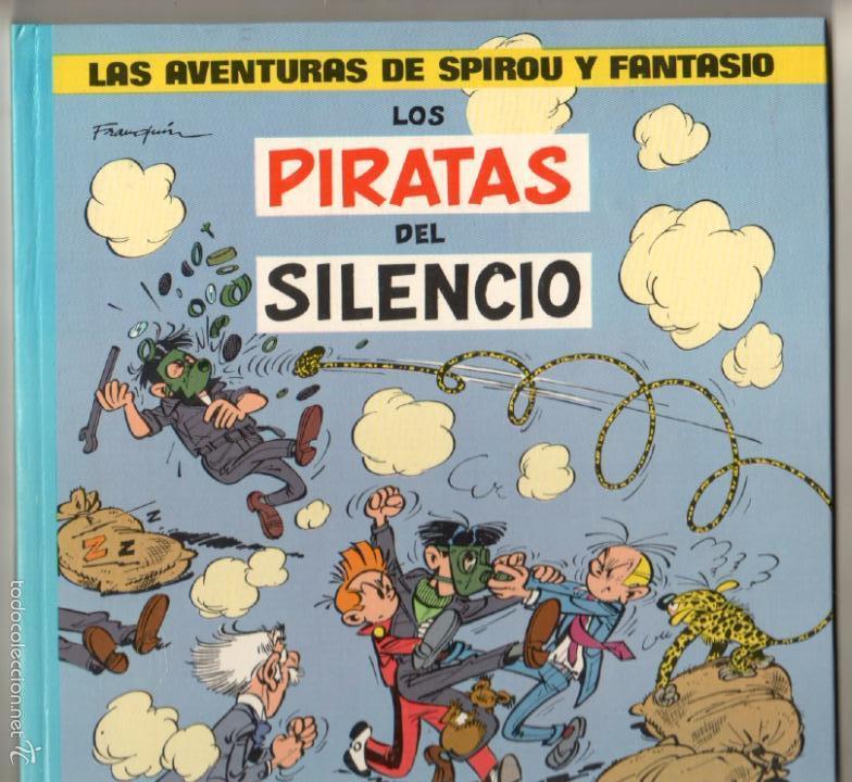 Cómics: LAS AVENTURAS DE SPIROU Y FANTASIO Nº 8 - LOS PIRATAS DEL SILENCIO - 1982 - Foto 2 - 59790364