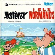 Cómics: ASTERIX I ELS NORMANDS - GRIJALBO DARGAUD 1984, 1ª EDICIO EN CATALA - TAPA DURA - BEN CONSERVAT. Lote 60068139
