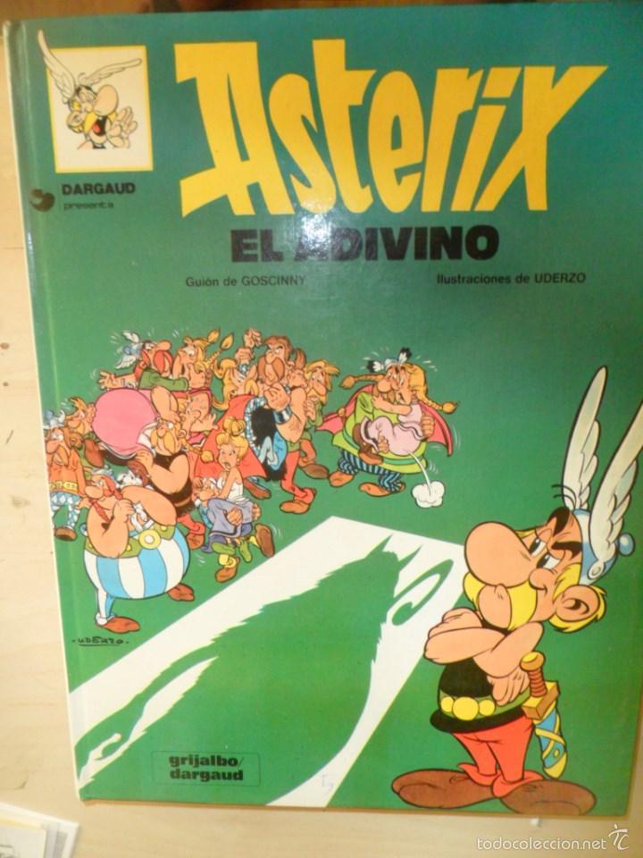 ASTERIX EL ADIVINO - GRIJALBO/DARGAUD - EDICION DE 1988 (Tebeos y Comics - Grijalbo - Asterix)