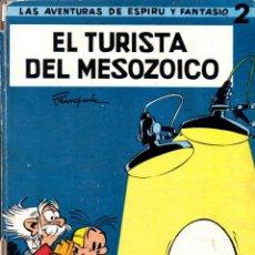 Cómics: ESPIRU Y FANTASIO : EL TURISTA DEL MESOZOICO (JAIMES, 1965). Lote 60851887