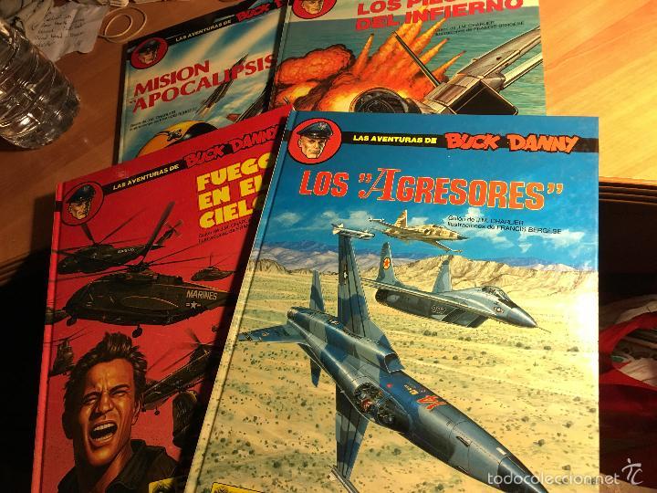 LAS AVENTURAS DE BUCK DANNY. COMPLETA 41, 42, 43 Y 44 (ED. GRIJALBO) (COI7) (Tebeos y Comics - Grijalbo - Buck Danny)