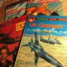 Cómics: LAS AVENTURAS DE BUCK DANNY. COMPLETA 41, 42, 43 Y 44 (ED. GRIJALBO) (COI7). Lote 60887267