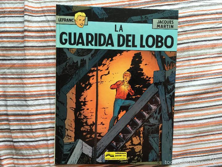 Cómics: LEFRANC LOTE COLECCION COMPLETA Nº 1, 2, 3, 4, 5, 6, 7, 8, 9 Y 10 (GRIJALBO JUNIOR) (COIM14) - Foto 6 - 61161031
