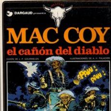 Fumetti: MAC COY EL CAÑON DEL DIABLO. Nº 9. AÑO 1982. Lote 61274915