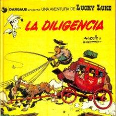 Comics : UNA AVENTURA DE LUCKY LUKE: LA DILIGENCIA - Nº 24 - MORRIS & GOSCINNY -GRIJALBO-DARGAUD 1983. Lote 61777552