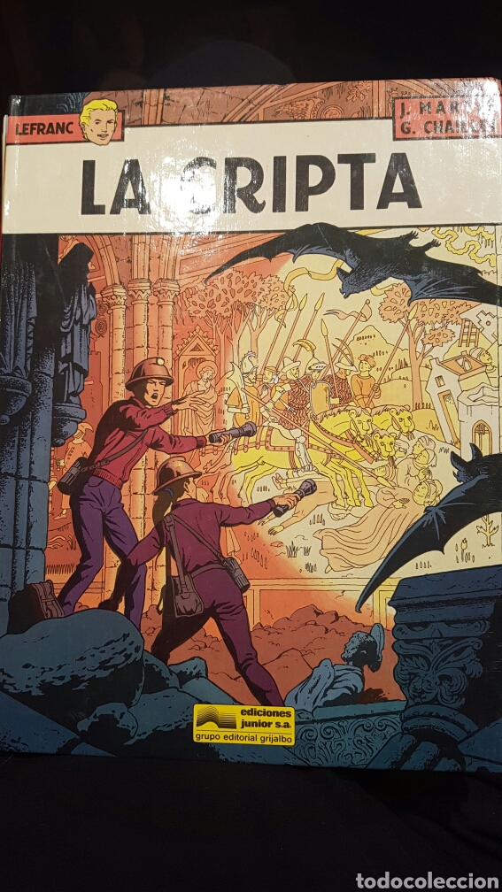 LEFRANC - LA CRIPTA VOLUMEN 9. AÑO 1988 (Tebeos y Comics - Grijalbo - Lefranc)