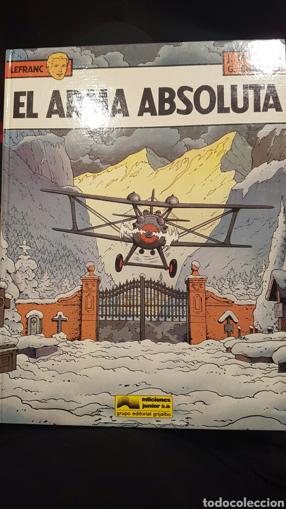 LEFRANC - EL ARMA OBSOLUTA VOLUMEN 8. AÑO 1988 (Tebeos y Comics - Grijalbo - Lefranc)