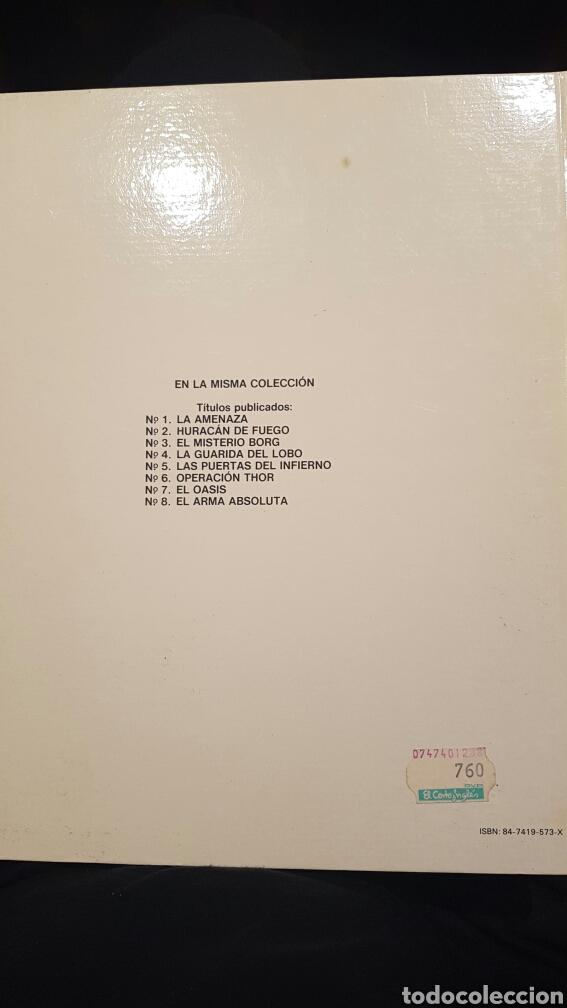 Cómics: Lefranc - El Arma Obsoluta volumen 8. Año 1988 - Foto 2 - 61897895