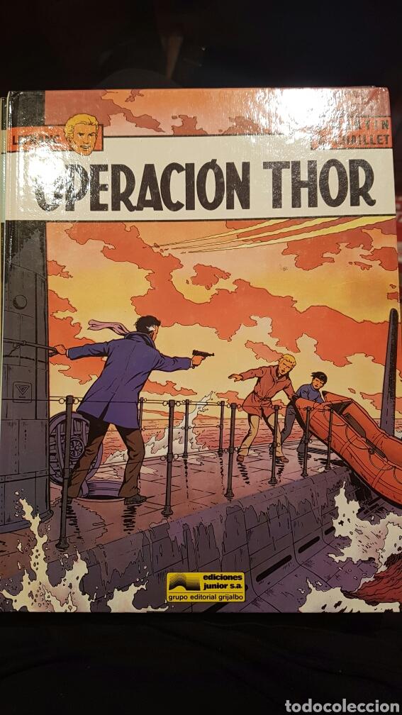 LEFRANC - OPERACIÓN THOR VOLUMEN 6. AÑO 1987 (Tebeos y Comics - Grijalbo - Lefranc)