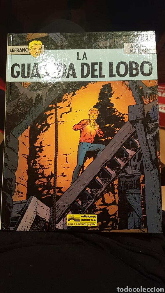 LEFRANC - LA GUARIDA DEL LOBO VOLUMEN 4. AÑO 1986 (Tebeos y Comics - Grijalbo - Lefranc)