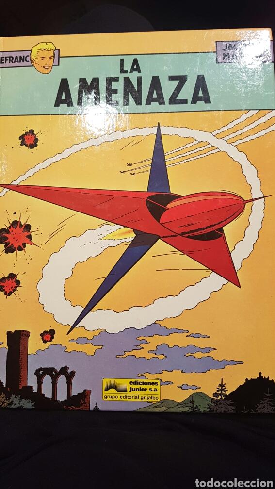 LEFRANC - LA AMENAZA VOLUMEN 1. AÑO 1986 (Tebeos y Comics - Grijalbo - Lefranc)