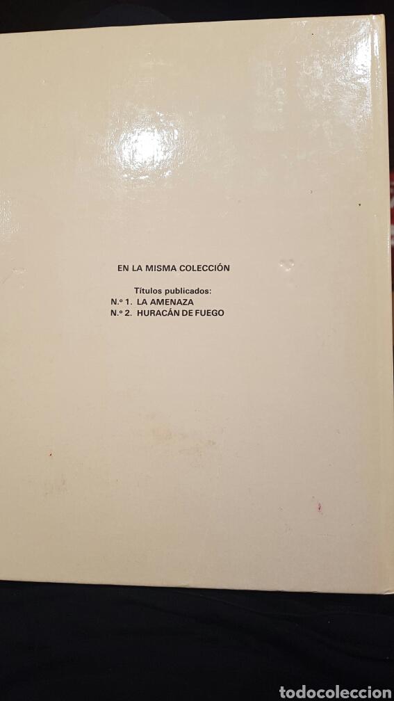 Cómics: Lefranc - La Amenaza volumen 1. Año 1986 - Foto 2 - 61898547