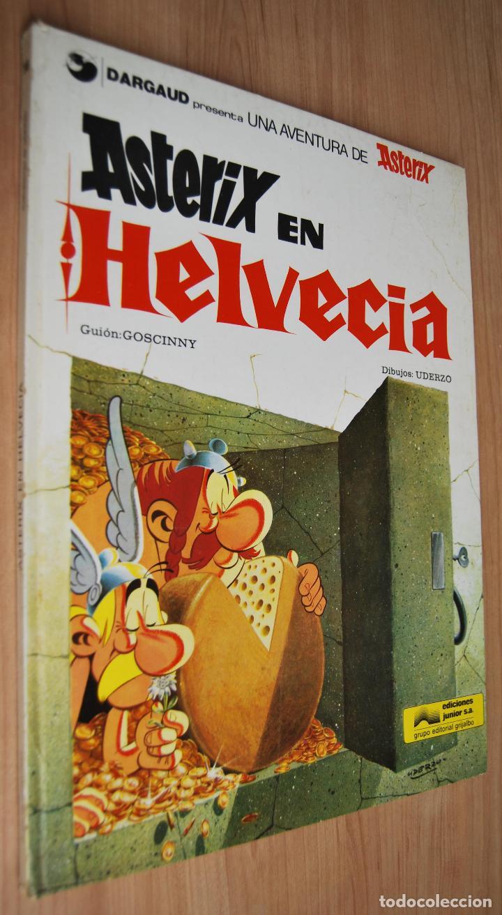 ASTÉRIX EN HELVECIA - EDITA GRIJALBO/DARGAUD - 1978 (Tebeos y Comics - Grijalbo - Asterix)