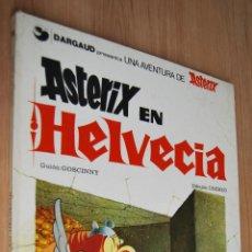Cómics: ASTÉRIX EN HELVECIA - EDITA GRIJALBO/DARGAUD - 1978. Lote 62061500