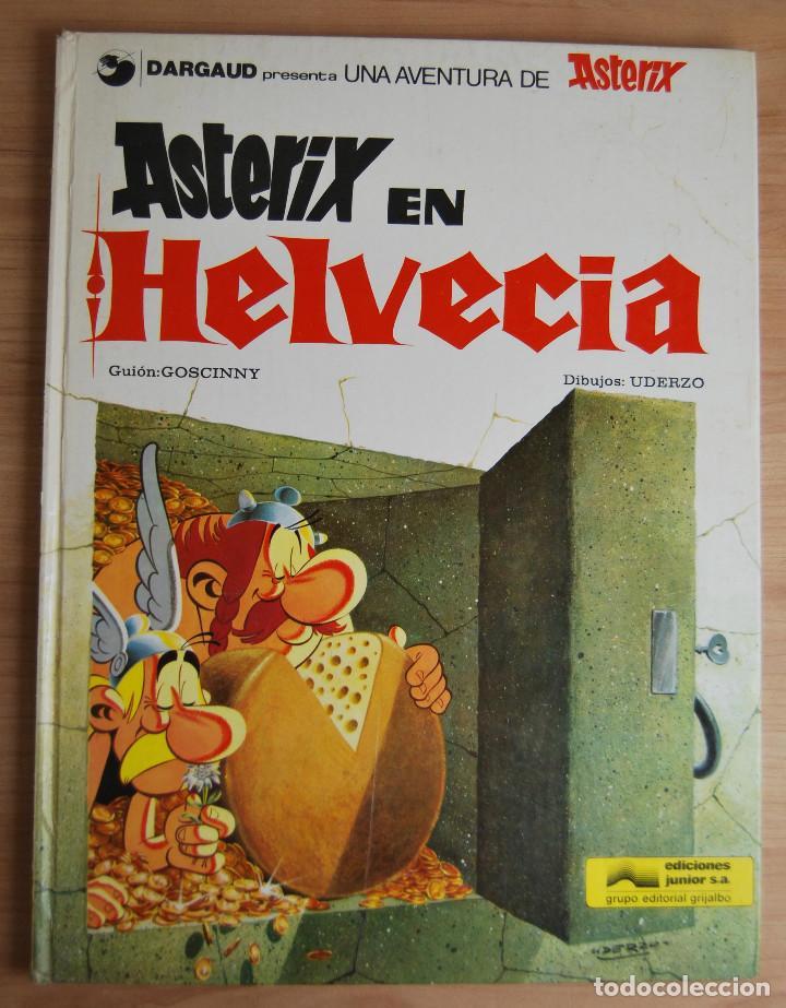 Cómics: Astérix en Helvecia - Edita Grijalbo/Dargaud - 1978 - Foto 2 - 62061500