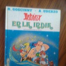 Comics: ASTERIX EN LA INDIA. R. GOSCINNY. A. UDERZO. JUNIOR- GRIJALBO. BUEN ESTADO. TAPA DURA.. Lote 62168036