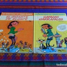 Cómics: LAS AVENTURAS DE TOMÁS ELGAFE NºS 5 7 EL GIGANTE Y GAFADAS GARRAFALES. GRIJALBO 1990.. Lote 62245232
