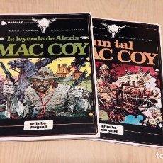 Cómics: MAC COY.TOMOS 1 Y 2.ANTONIO HERNANDEZ PALACIOS.GRIJALBO.. Lote 62248192