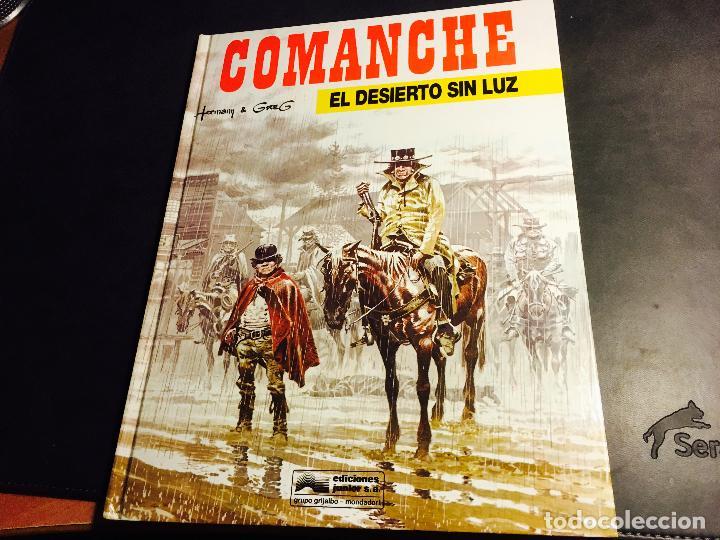 COMANCHE Nº 5 EL DESIERTO SIN LUZ. TAPA DURA (ED. JUNIOR - GRIJALBO) (COI10) (Tebeos y Comics - Grijalbo - Comanche)