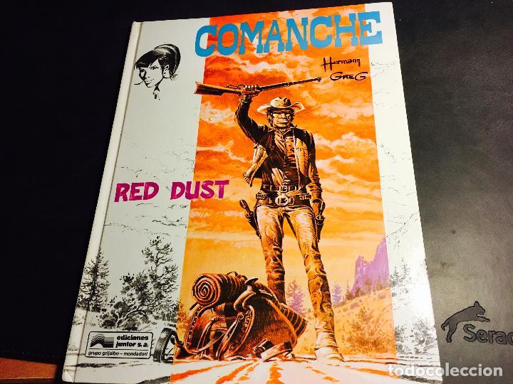 COMANCHE Nº 1 RED DUST. TAPA DURA (ED. JUNIOR - GRIJALBO) (COI10) (Tebeos y Comics - Grijalbo - Comanche)