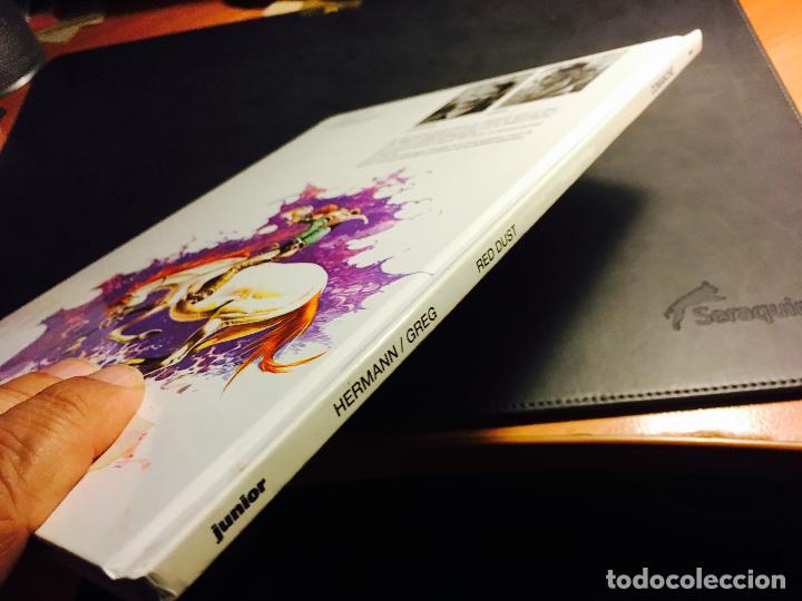 Cómics: COMANCHE Nº 1 RED DUST. TAPA DURA (ED. JUNIOR - GRIJALBO) (COI10) - Foto 2 - 62303880