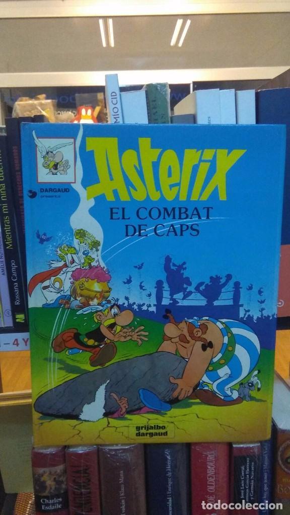 ASTERIX I EL COMBAT DE CAPS (1988) - R. GOSCINNY & A.UDERZO - ISBN: 9788475103037 (Tebeos y Comics - Grijalbo - Asterix)