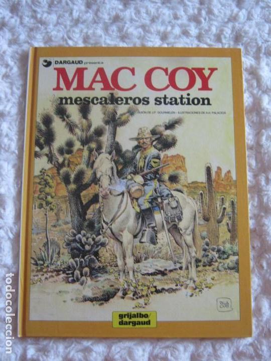 MAC COY - MESCALEROS STATION - 15 (Tebeos y Comics - Grijalbo - Mac Coy)