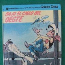 Cómics: LUCKY LUKE Nº 52 BAJO EL CIELO DEL OESTE GRIJALBO/DARGAUD TAPA DURA. Lote 62761012