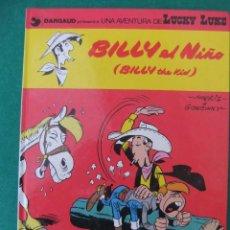 Cómics: LUCKY LUKE Nº 14 BILLY EL NIÑO GRIJALBO/DARGAUD TAPA DURA. Lote 62761564