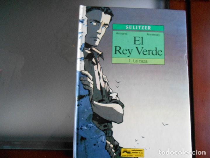 EL REY VERDE Nº 1 POR SULITZER ,TAPA DURA 48 PAG.. (Tebeos y Comics - Grijalbo - Otros)