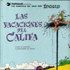 Cómics: IZNOGUD Nº 12 - LAS VACACIONES DEL CALIFA - JUNIOR 1991, 1ª EDICION - BIEN CONSERVADO, DIFICIL. Lote 63141656