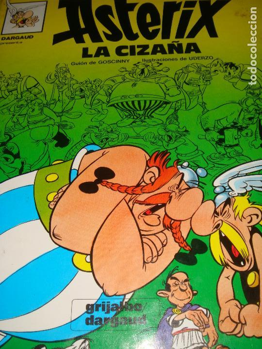 ASTERIX LA CIZAÑA - GRIJALBO DARGAUD TAPA DURA (Tebeos y Comics - Grijalbo - Asterix)