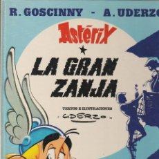 Cómics: ASTERIX / LA GRAN ZANJA (GRIJALBO 1988) TAPA DURA. Lote 63442376