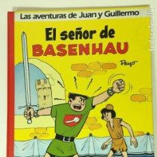 Cómics: COMIC TAPA DURA LAS AVENTURAS DE JUAN Y GUILLERMO DE PEYÓ -1986. Lote 63582516
