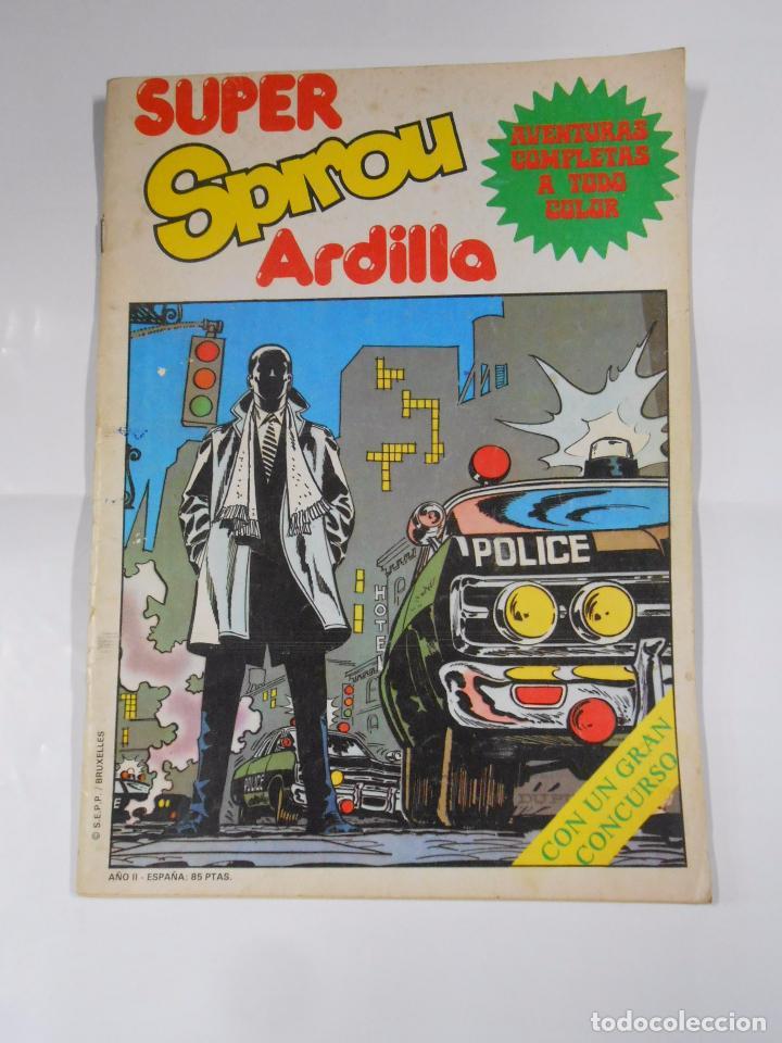 SUPER SPIROU ARDILLA Nº 7 EDITORA MUNDIS. TDKC19 (Tebeos y Comics - Grijalbo - Spirou)