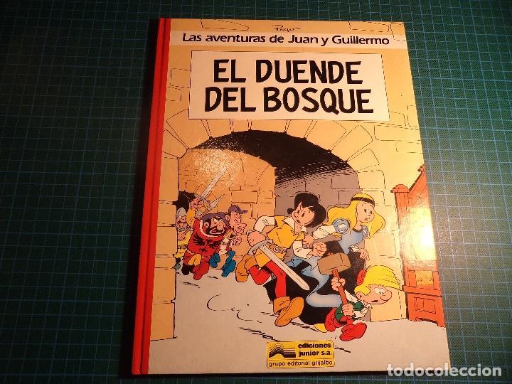 LAS AVENTURAS DE JUAN Y GUILLERMO. Nº 3. JUNIOR. (A-B) (Tebeos y Comics - Grijalbo - Mac Coy)