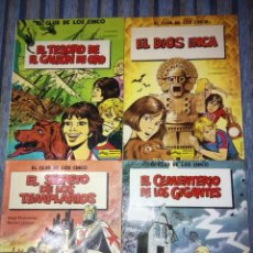 Cómics: EL CLUB DE LOS CINCO (COLECCION COMPLETA) - DUFOSSE Y ROSENZWEIG (GRIJALBO-JUNIOR 1983). Lote 64822291